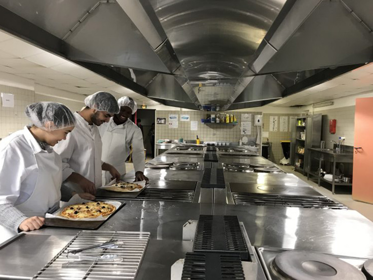 Lycée Professionnel de la Coudoulière - Cuisine
